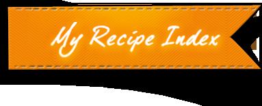 My Recipe Index